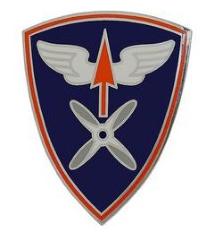 110th Aviation Brigade Combat Service Identification Badge (CSIB)