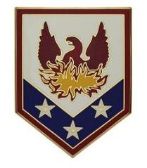 110th Maneuver Enhancement Brigade Combat Service Identification Badge (CSIB)