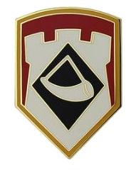 111th Engineer Brigade Combat Service Identification Badge (CSIB)