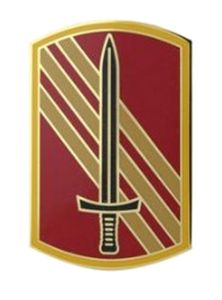 113th Sustainment Brigade Combat Service Identification Badge (CSIB)