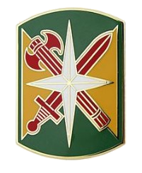 14th Military Police Brigade Combat Service Identification Badge (CSIB)