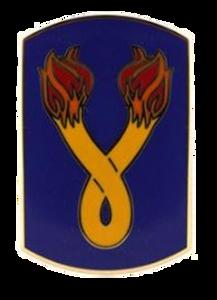 196th Infantry Brigade Combat Service Identification Badge (CSIB)