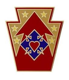 213th Support Group Combat Service Identification Badge (CSIB)