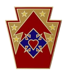 213th Support Group Combat Service Identification Badge (CSIB)