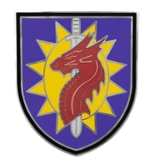 224th Sustainment Brigade Combat Service Identification Badge (CSIB)
