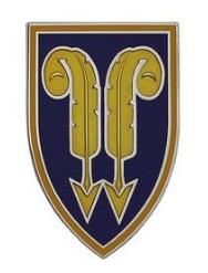 22nd Support Command Combat Service Identification Badge (CSIB)