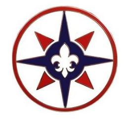 316th Sustainment Command Combat Service Identification Badge (CSIB)