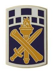351st Civil Affairs Command Combat Service Identification Badge (CSIB)