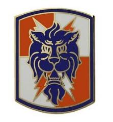 35th Signal Brigade Combat Service Identification Badge (CSIB)