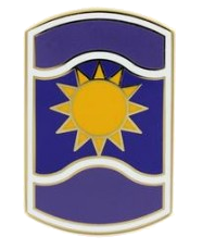 361st Civil Affairs Brigade Combat Service Identification Badge (CSIB)