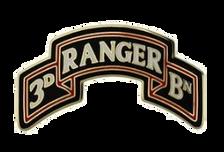 3rd Ranger Battalion Scroll 75th Ranger Regiment Combat Service Identification Badge (CSIB)