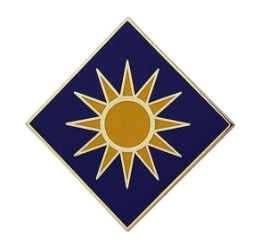 40th Infantry Division Combat Service Identification Badge (CSIB)