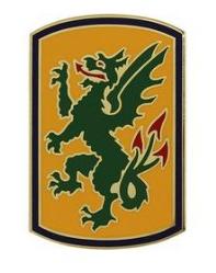 415th Chemical Brigade Combat Service Identification Badge (CSIB)