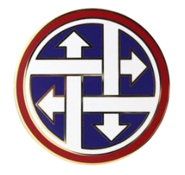 4th Sustainment Command Combat Service Identification Badge (CSIB)