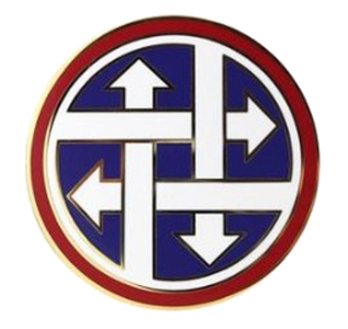 4th Sustainment Command Combat Service Identification Badge (CSIB)