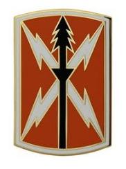 516th Signal Brigade Combat Service Identification Badge (CSIB)