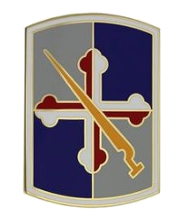 58th Infantry Brigade Combat Combat Service Identification Badge (CSIB)