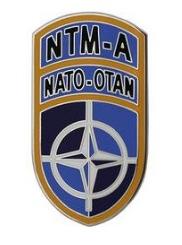 NATO Training Mission Afghanistan Combat Service Identification Badge (CSIB)