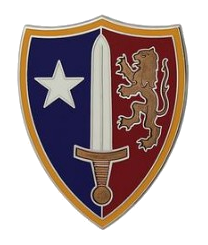 USA North Atlantic Treaty Organization (NATO) Combat Service Identification Badge (CSIB)