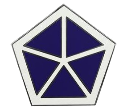 V Corps Combat Service Identification Badge (CSIB)