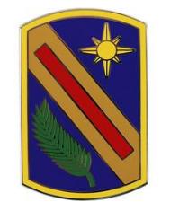 321st Sustainment Brigade Combat Service Identification Badge (CSIB)