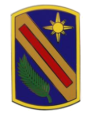 321st Sustainment Brigade Combat Service Identification Badge (CSIB)