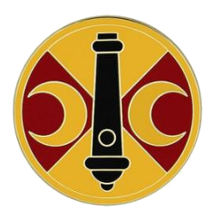 210th Fires Brigade Combat Service Identification Badge (CSIB)