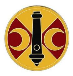 210th Fires Brigade Combat Service Identification Badge (CSIB)