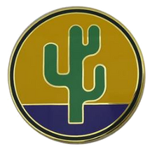 103rd Sustainment Command (Expeditionary) Combat Service Identification Badge (CSIB)