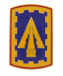 108th Air Defense Artillery Brigade Combat Service Identification Badge (CSIB)