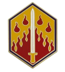 48th Chemical Brigade Combat Service Identification Badge (CSIB)