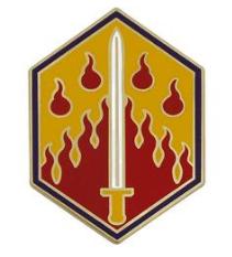 48th Chemical Brigade Combat Service Identification Badge (CSIB)