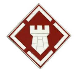 20th Engineer Brigade Combat Service Identification Badge (CSIB)