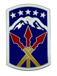 593rd Sustainment Brigade Combat Service Identification Badge (CSIB)