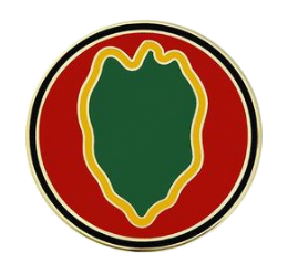 24th Infantry Division Combat Service Identification Badge (CSIB)