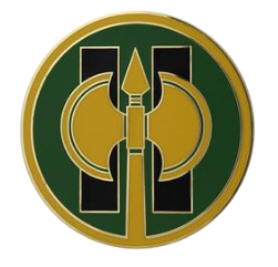 11th Military Police Brigade Combat Service Identification Badge (CSIB)