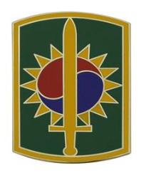 8th Military Police Brigade Combat Service Identification Badge (CSIB)