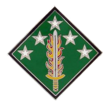 20th CBRNE Chemical, Biological, Radiological, Nuclear, Explosives Command Combat Service Identification Badge (CSIB)