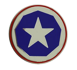 9th Support Command Combat Service Identification Badge (CSIB)