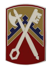 16th Sustainment Brigade Combat Service Identification Badge (CSIB)