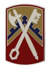 16th Sustainment Brigade Combat Service Identification Badge (CSIB)
