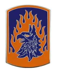 12th Aviation Brigade Combat Service Identification Badge (CSIB)