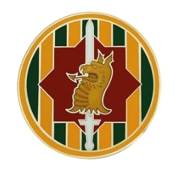 89th Military Police Brigade Combat Service Identification Badge (CSIB)