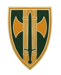 18th Military Police Brigade Combat Service Identification Badge (CSIB)