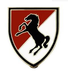 11th Armored Cavalry Regiment Combat Service Identification Badge (CSIB)