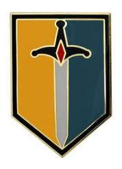 1st Maneuver Enhancement Brigade Combat Service Identification Badge (CSIB)
