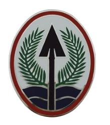 Army Element Multi National Corps - Iraq Combat Service Identification Badge (CSIB)