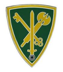 42nd Military Police Brigade Combat Service Identification Badge (CSIB)