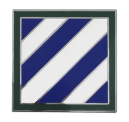 3rd Infantry Division Combat Service Identification Badge (CSIB)