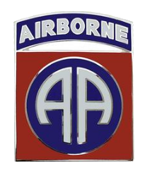 82nd Airborne Division Combat Service Identification Badge (CSIB)